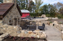 Backyard Pool – With Stone Pool House #2