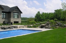 Backyard Pool – Construction & Completion #3
