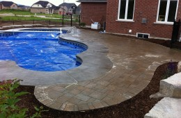 Backyard Pool – Cover Off #1