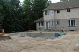 Backyard Pool – Start To Finish #1