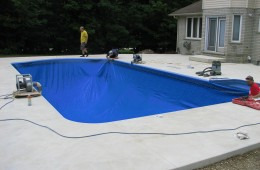 Backyard Pool – Start To Finish #4