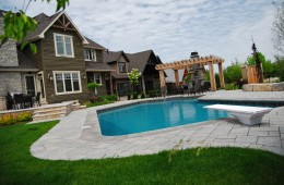 Backyard Pool – With Diving Board