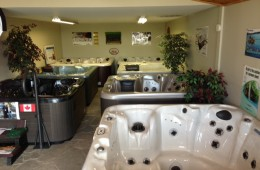 Hot Tub – Showroom